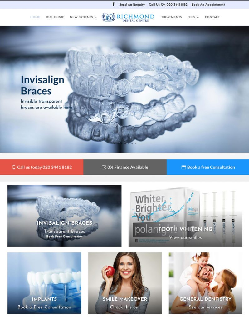 Richmond Dental Centre – Nimbus Digital
